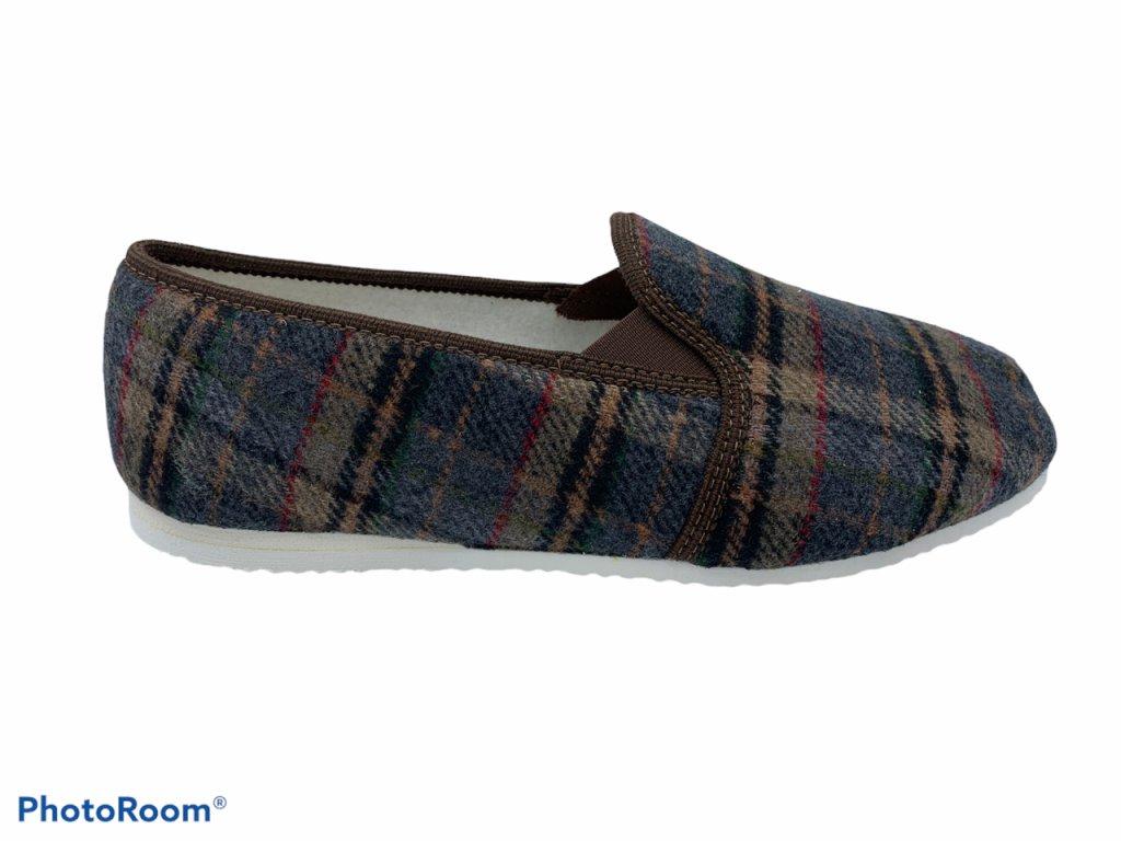 Pánské domácí papuče Bokap 072 šedé