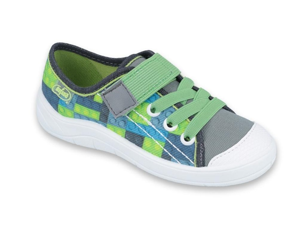 Chlapecké textilní tenisky Befado 251y148 zelené