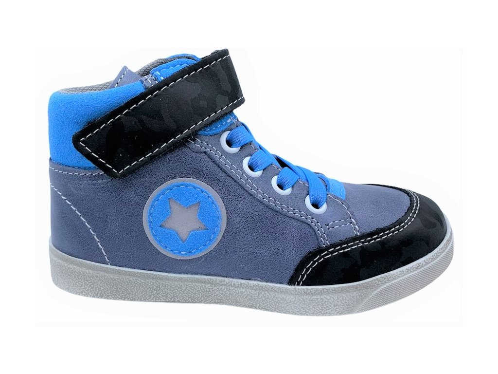 Dětské celoroční boty Jonap 050 modré