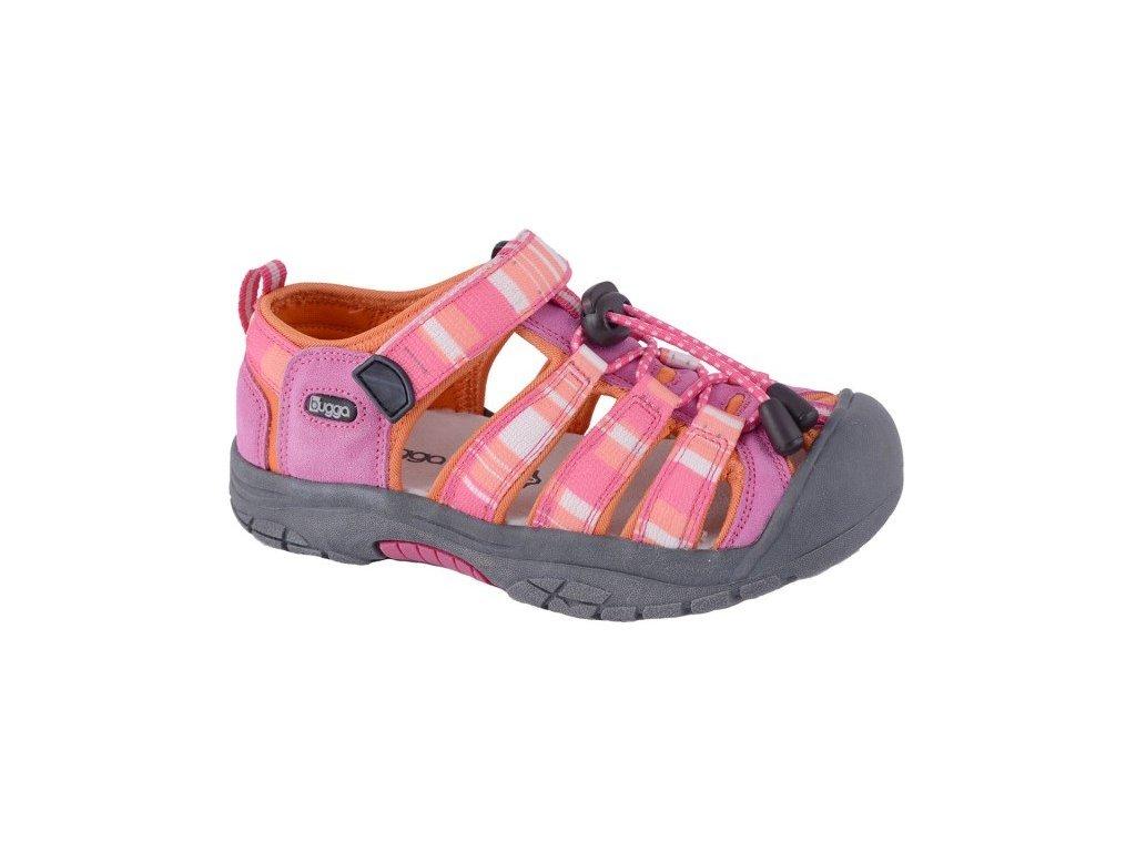 d677d6ad3b Dětské sportovní sandály Bugga B00094 růžové - VLAPA.cz