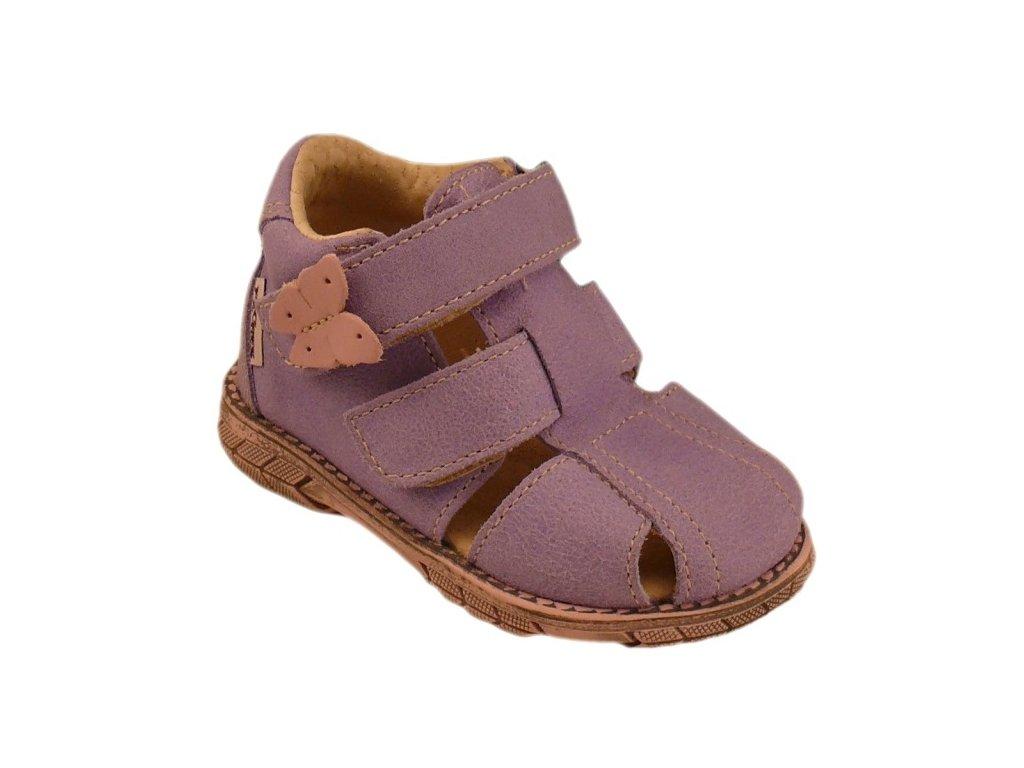 Dětské letní sandálky Pegres 1201 fialové - VLAPA.cz 4d24a7bbc3