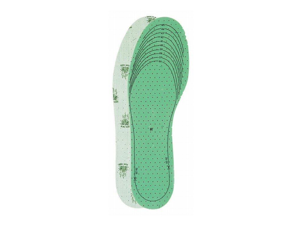 Zastřihávací vložky do bot Aloe Vera UNI