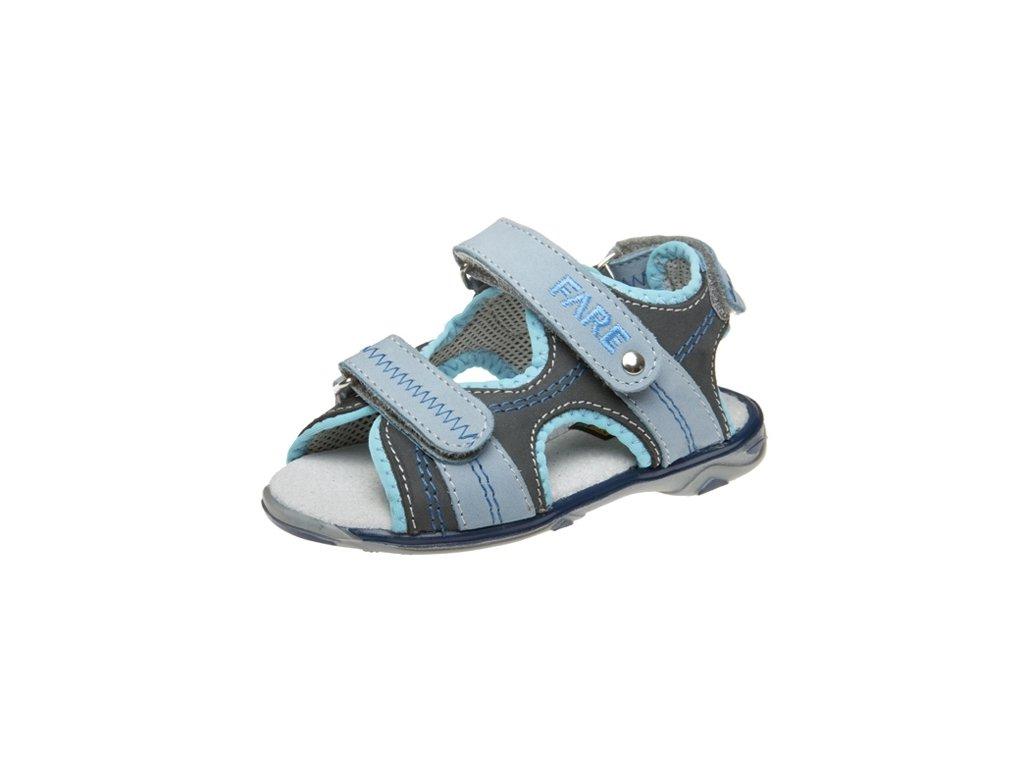 Dětské letní sandálky Fare 766103 modré