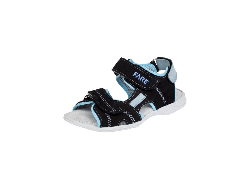 Chlapecké letní sandálky Fare 1761311 černé - VLAPA.cz cc00e78b5e