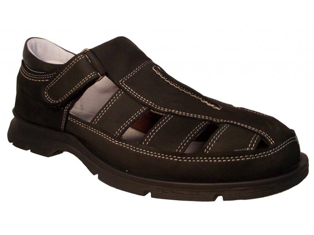 Pánská letní obuv Redno 1902 černá - VLAPA.cz 812680ae9c