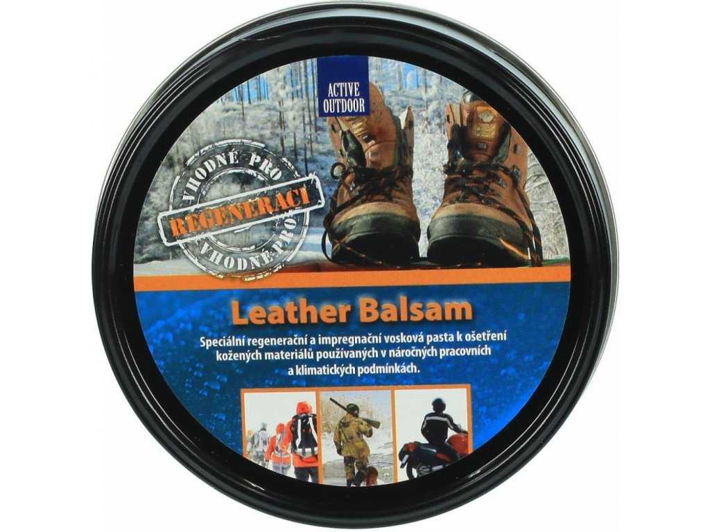 Balzám na boty Active Outdoor Leather