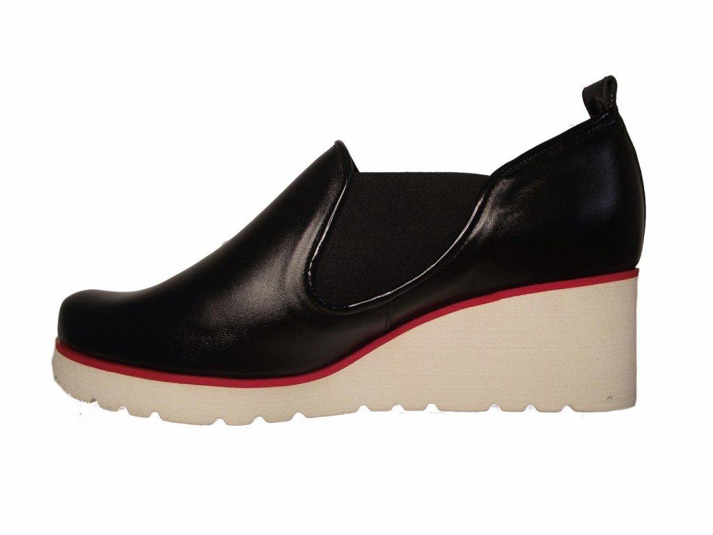 Dámské celoroční boty na platformě Kira 2563 černé - VLAPA.cz 8a4f3c1d1c