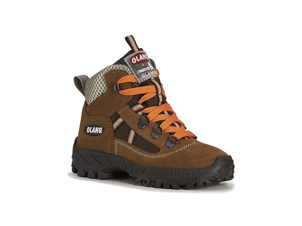 Dětská kotníková treková obuv Olang Cortina kid.Tex hnědá