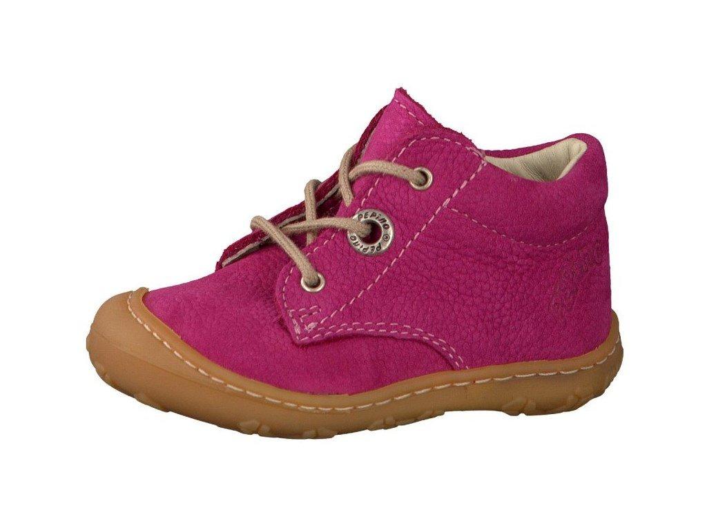 54fe87f57f6 Dětské celoroční boty Ricosta 320 Barefoot růžové - VLAPA.cz