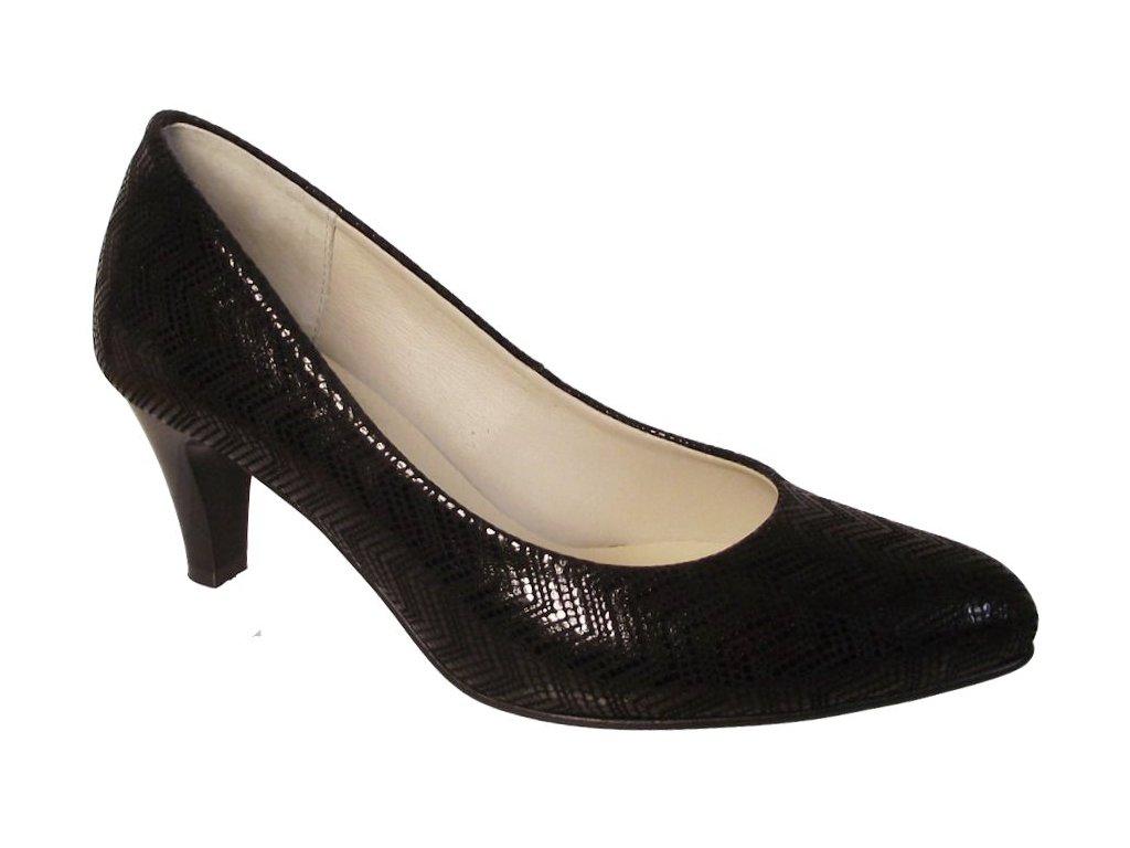Dámská společenská obuv NES 2541 černá