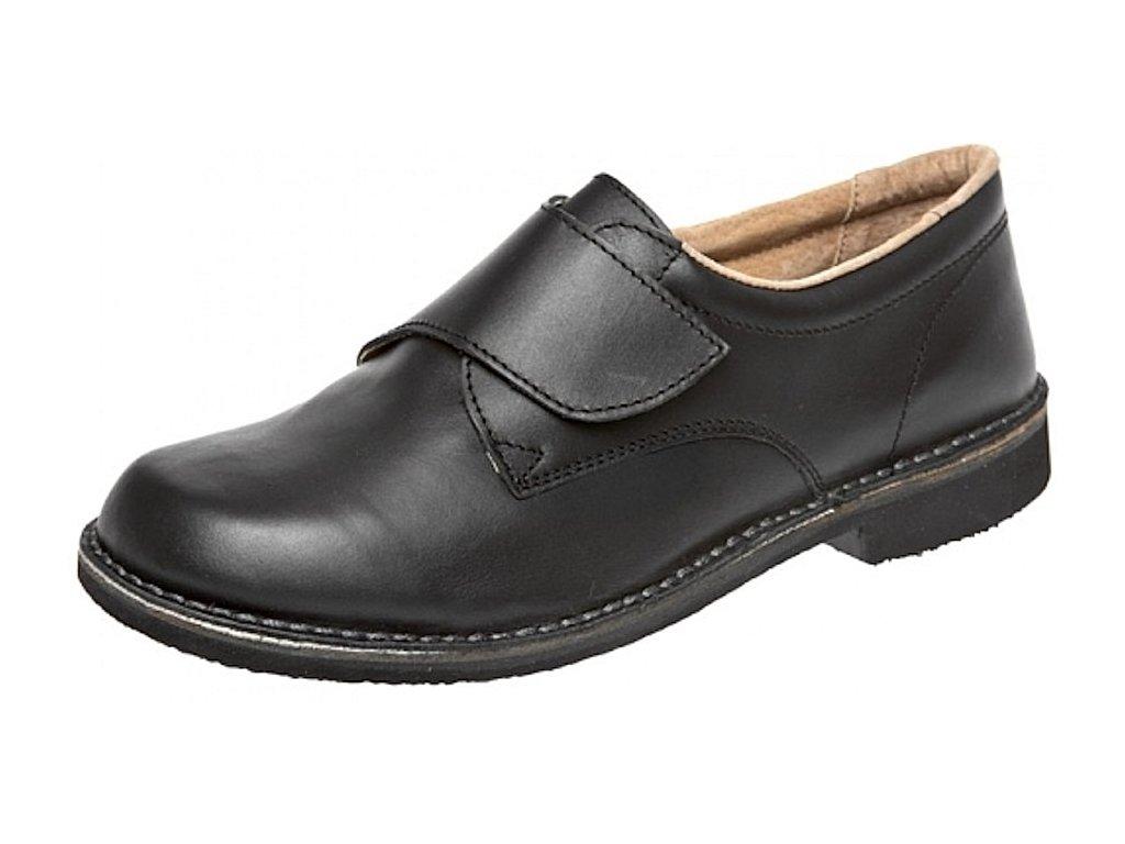 Pánské polobotky Flexiko Velcro černá