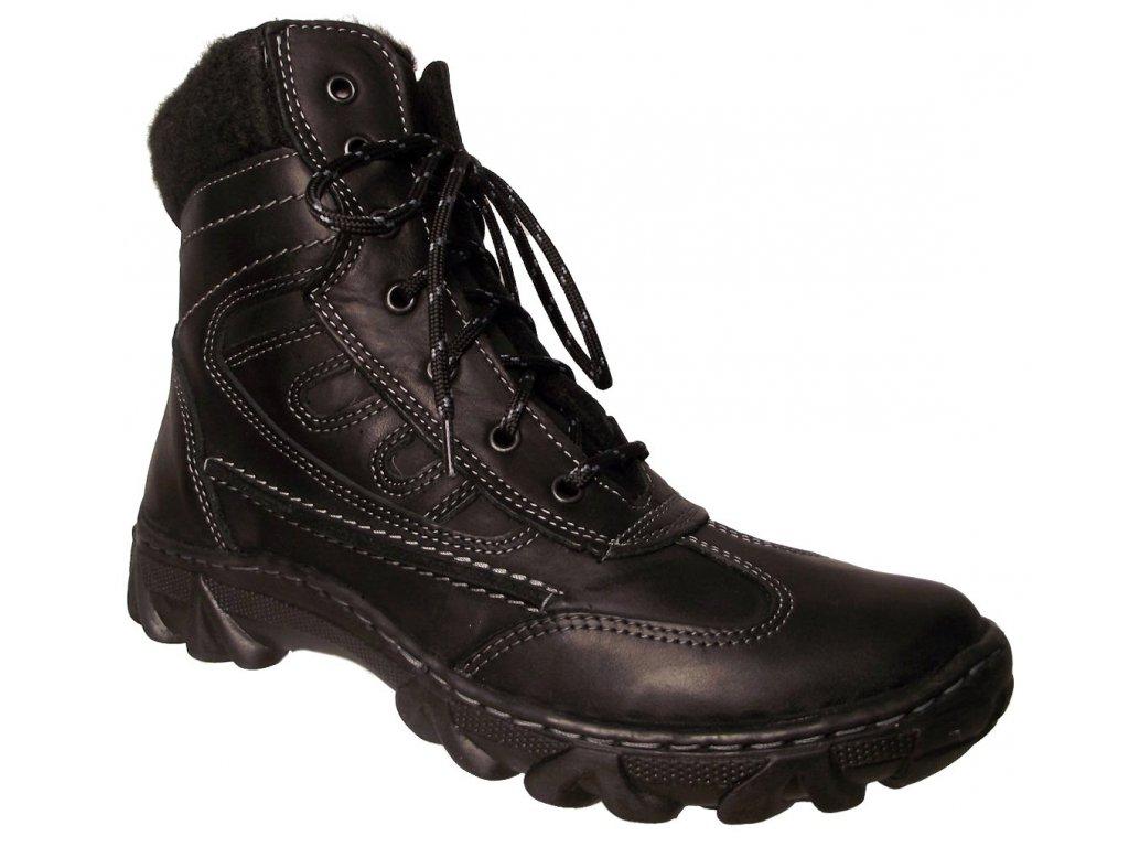 Dámská zimní obuv Madler J 88 černá