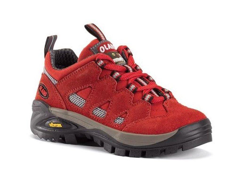 Dětská treková obuv Olang Corvara Kid červená