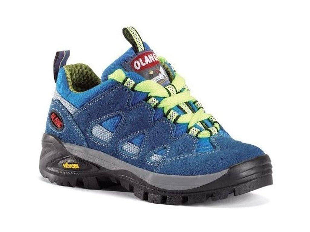 Dětská treková obuv Olang Corvara Kid modrá