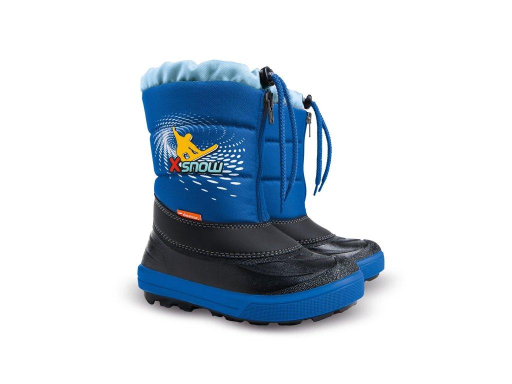Dětské zimní sněhule Demar Kenny modré