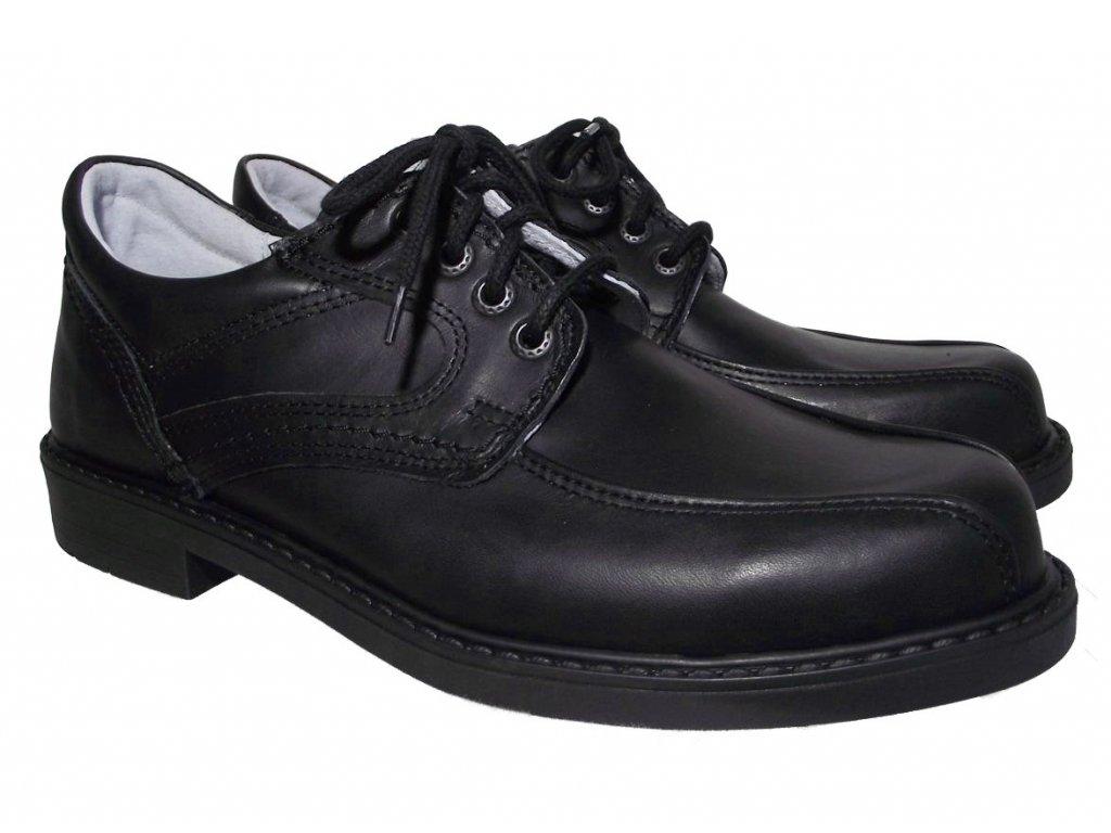Pánská celoroční obuv Redno 617 421 černá
