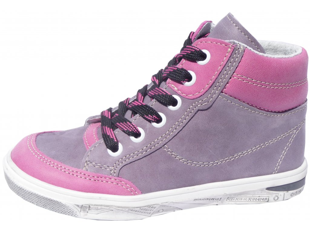 Dětské celoroční boty Jonap 028/M fialová