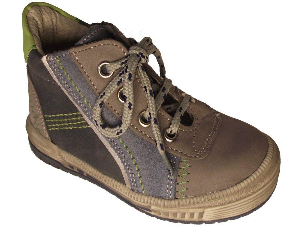 Dětské celoroční boty Essi S 2563 šedá