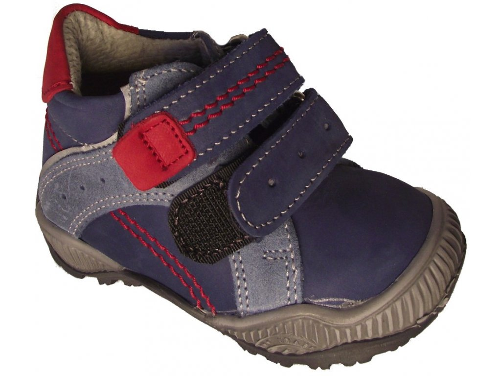 Dětské celoroční boty Essi S 2502 modrá