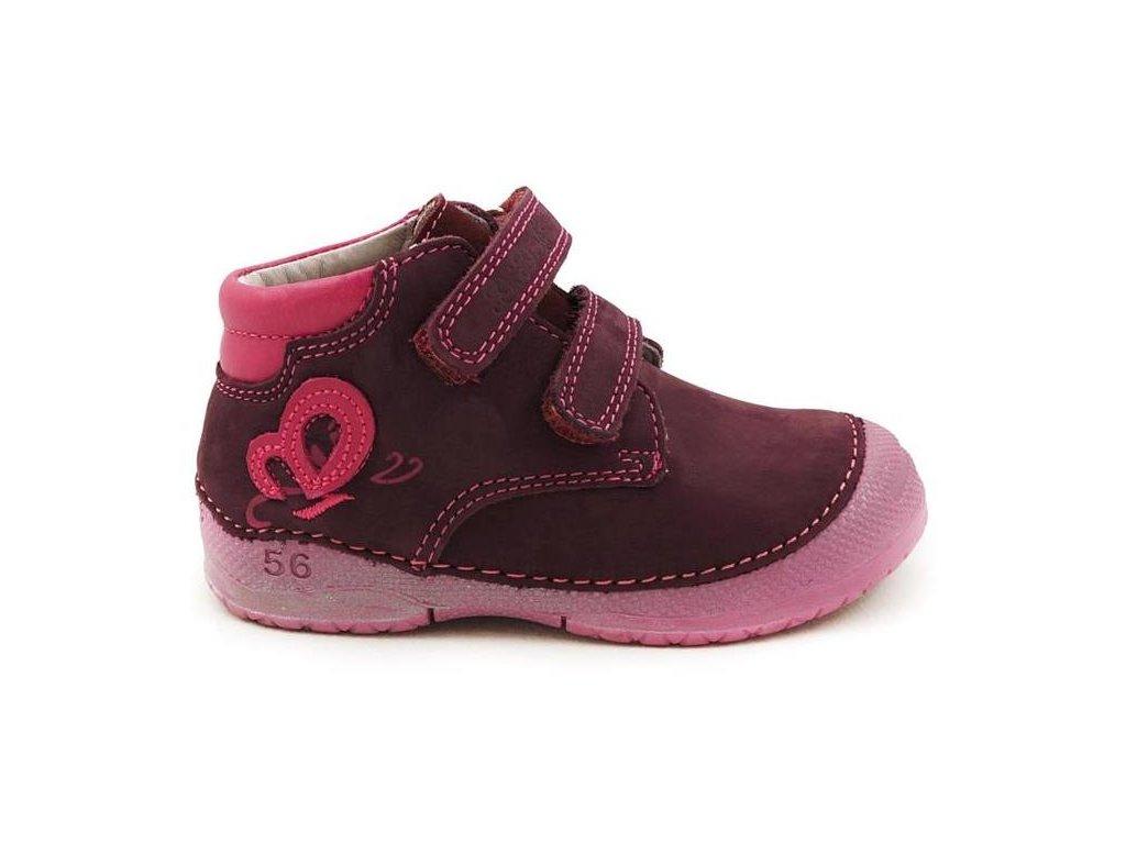 ... Dětské celoroční boty D.D.step 038-14C vínová. 038 14c 84051f240a