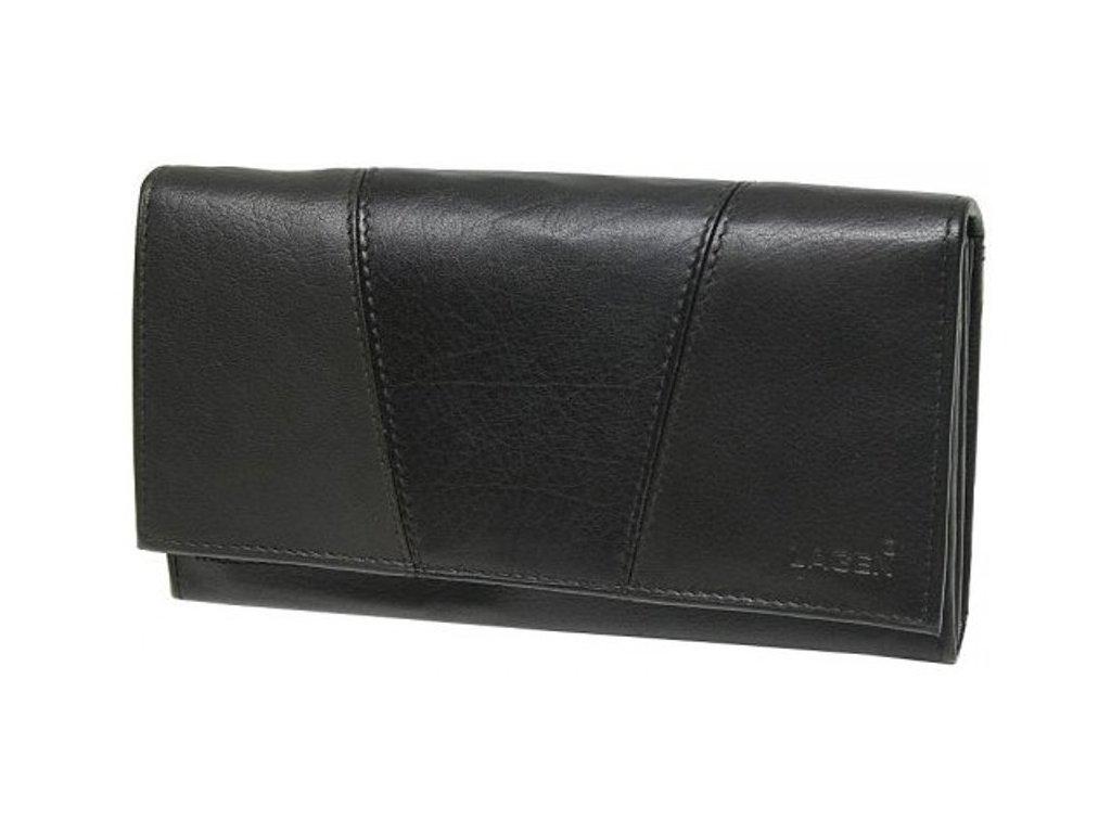 Dámská kožená peněženka Lagen PWL-388 černá