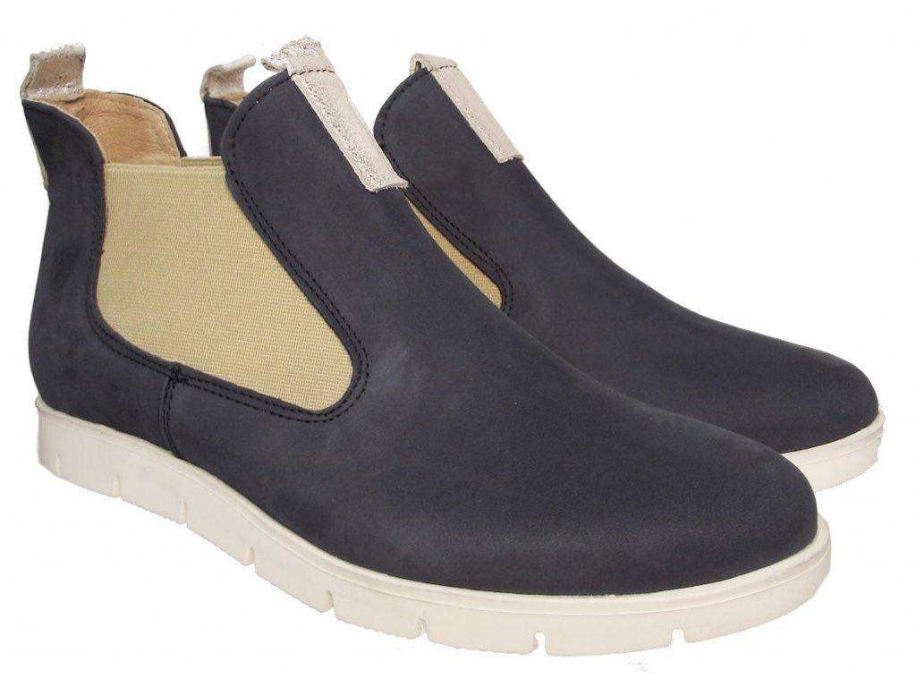 Dámské celoroční kotníkové boty Kira 2388 modré