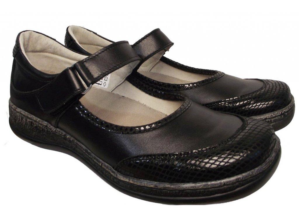 Dámská vycházková obuv Kira 660 černá