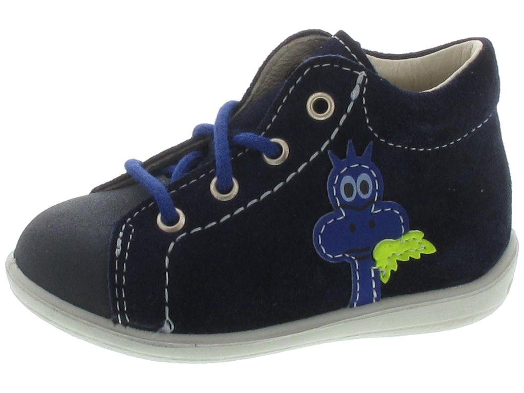 Dětské celoroční boty Ricosta Brontosaurus modré