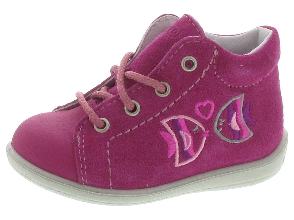 Dětské celoroční boty Ricosta Rybičky růžové