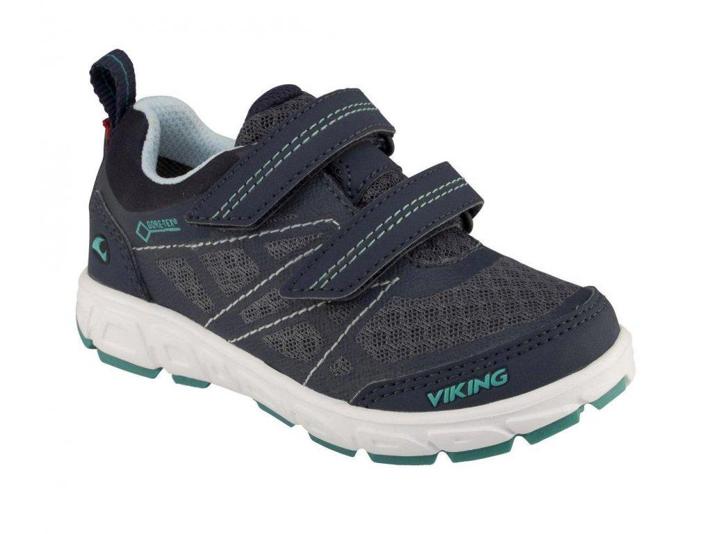 Dětská sportovní obuv Viking 504 modrá - VLAPA.cz 65e270d12fa