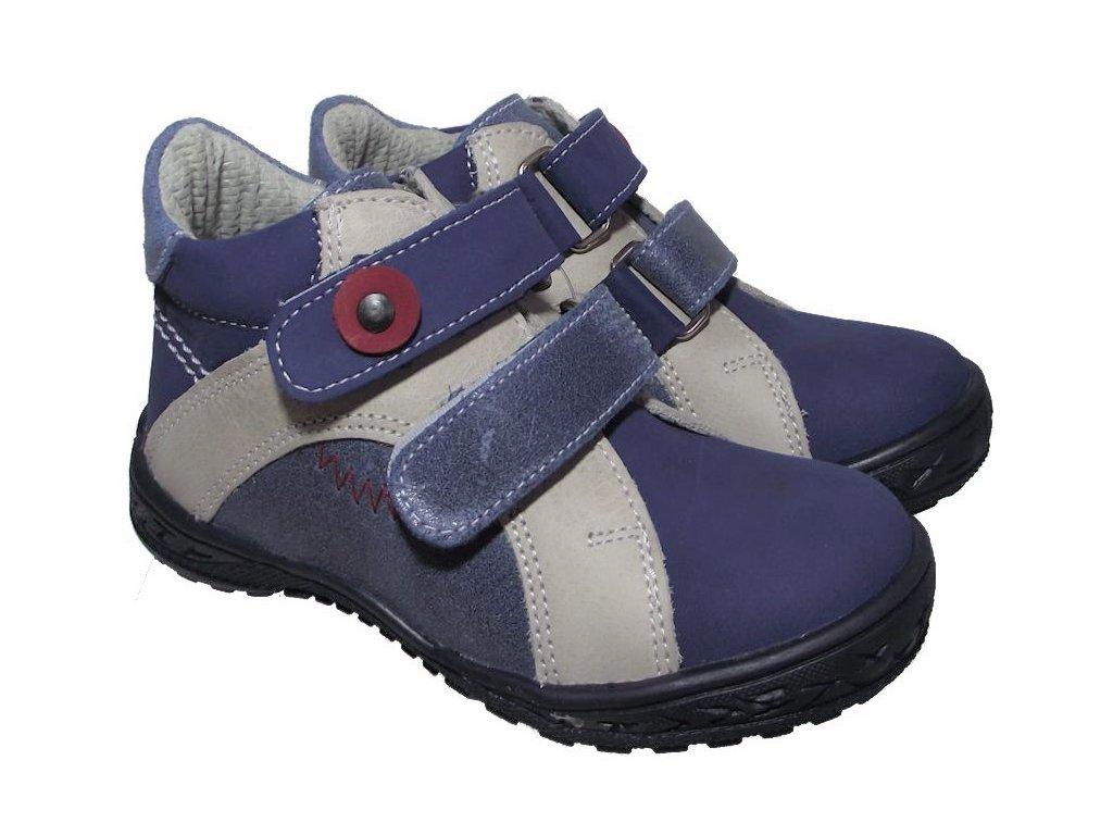 Dětské celoroční boty Essi S 1702 modrá