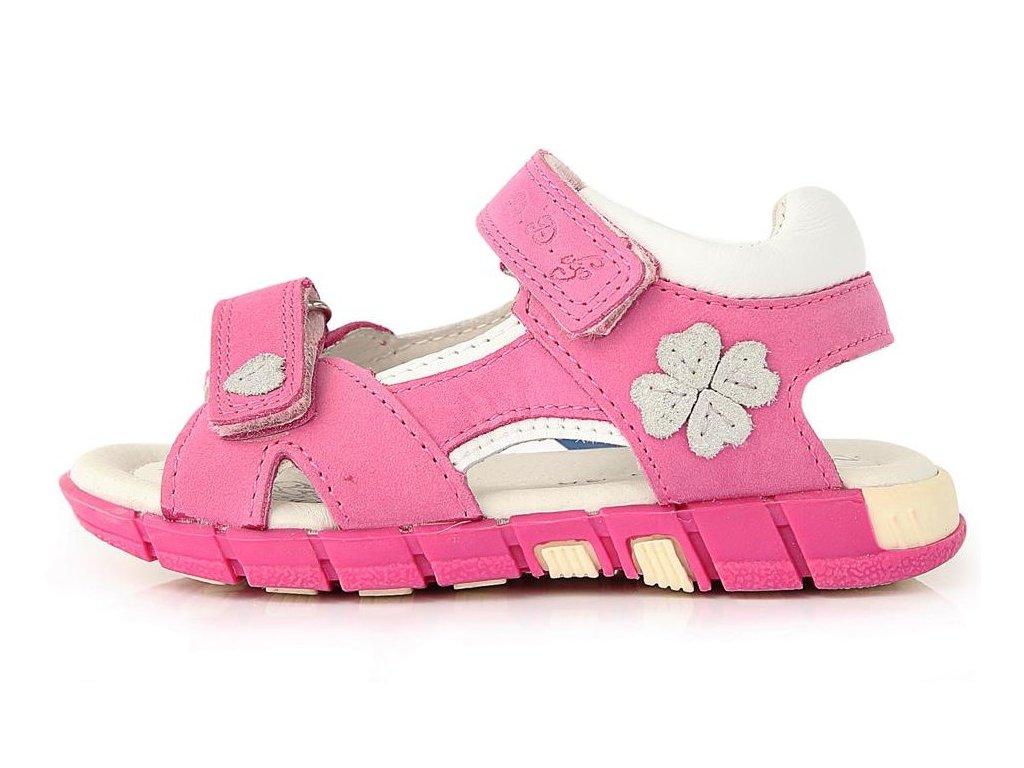 1500e084275b Dětské letní sandálky D.D.step A039-35 růžové - VLAPA.cz