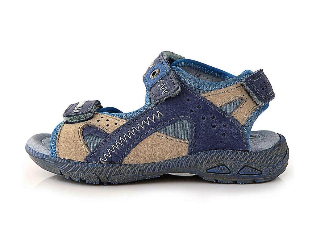 Dětské letní sandálky D.D.step AC290-61 modré - VLAPA.cz 3508cb5eb0