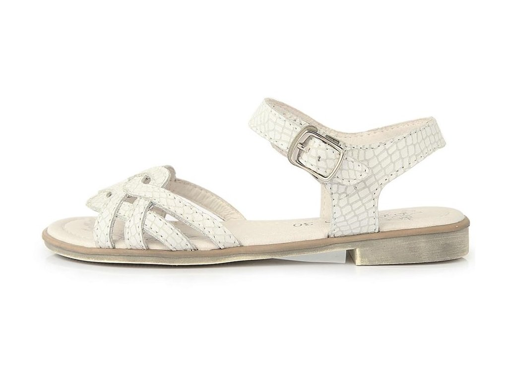 Dívčí letní sandálky D.D.step K356-10 bílé - VLAPA.cz 158f4b164b