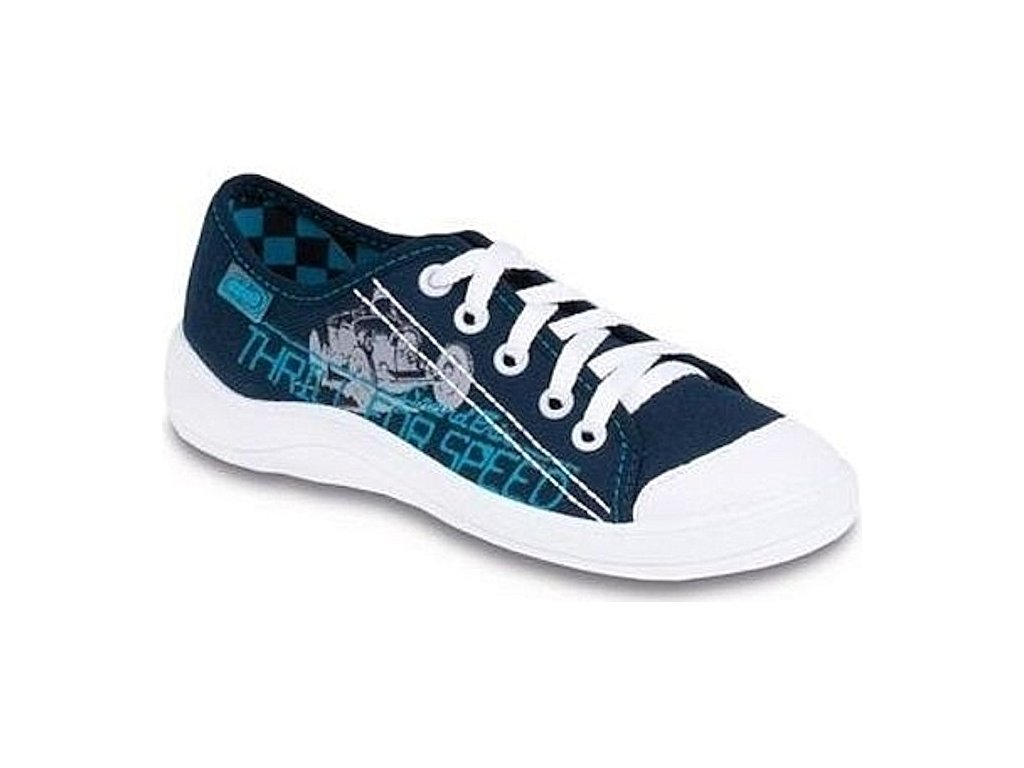 Chlapecké textilní tenisky Befado Tim 244Y024 modrá