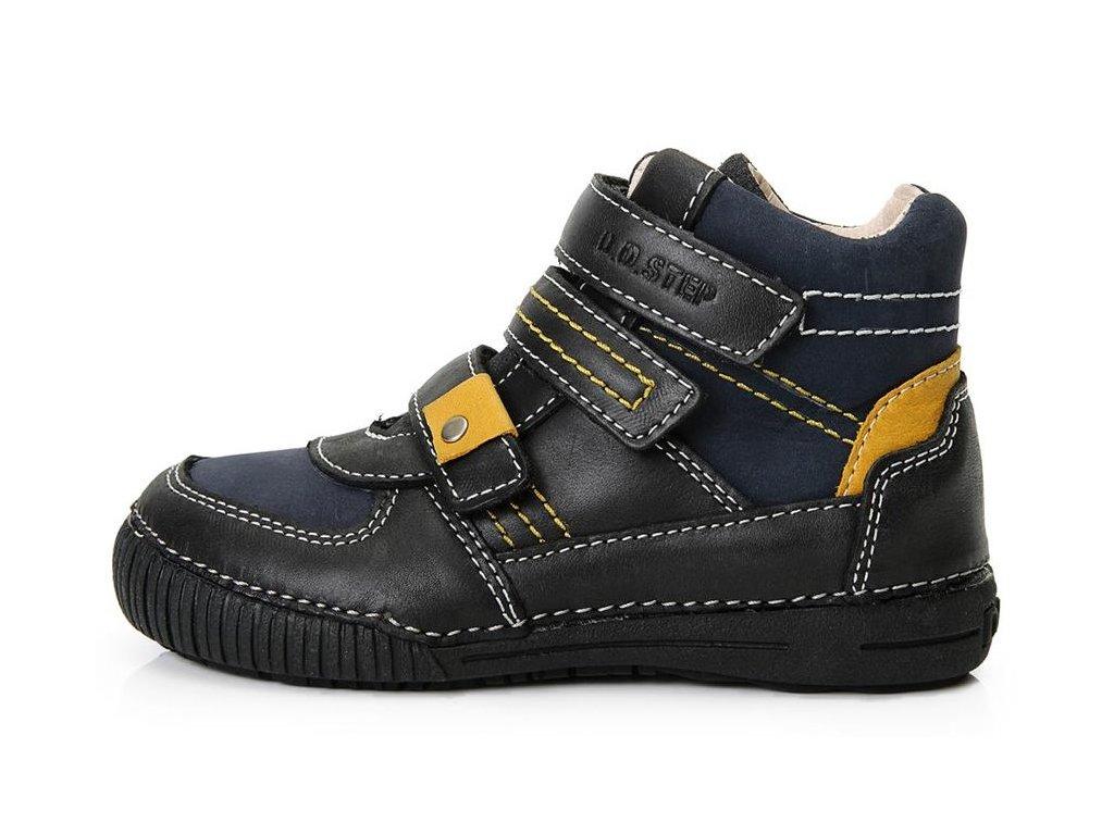 Dětské kotníkové celoroční boty D.D.step 036-52 modro-černé - VLAPA.cz ff919ce9d1