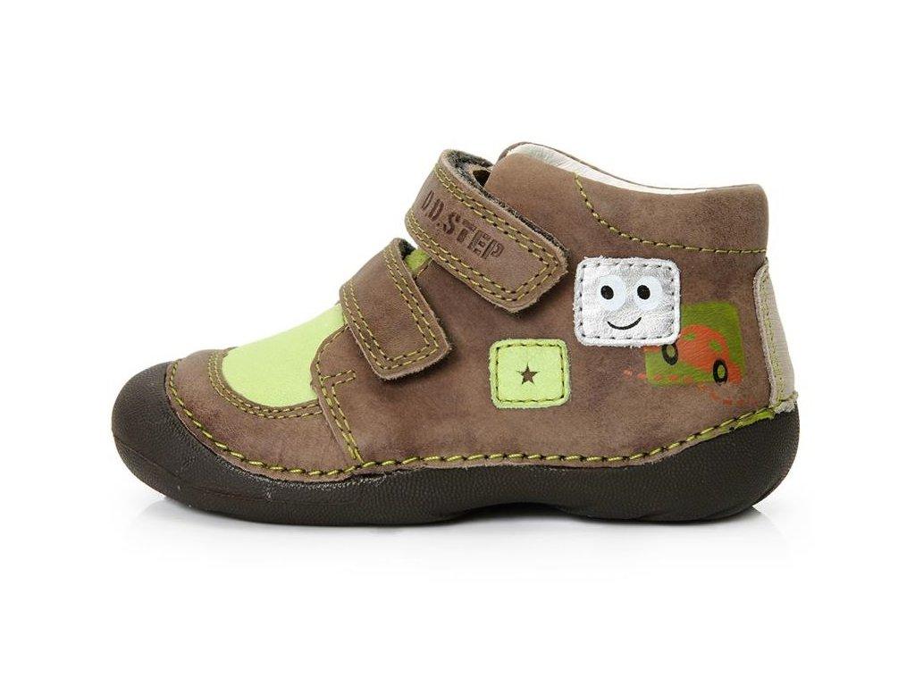 Dětské celoroční boty D.D.step 015-114A hnědé - VLAPA.cz b4a51e2df3