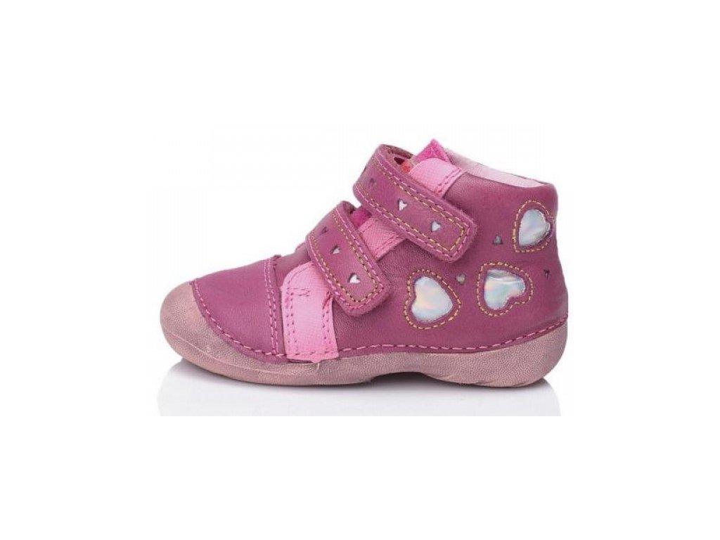 Dětské celoroční boty D.D.step 015-69b růžové - VLAPA.cz 1905cc1503