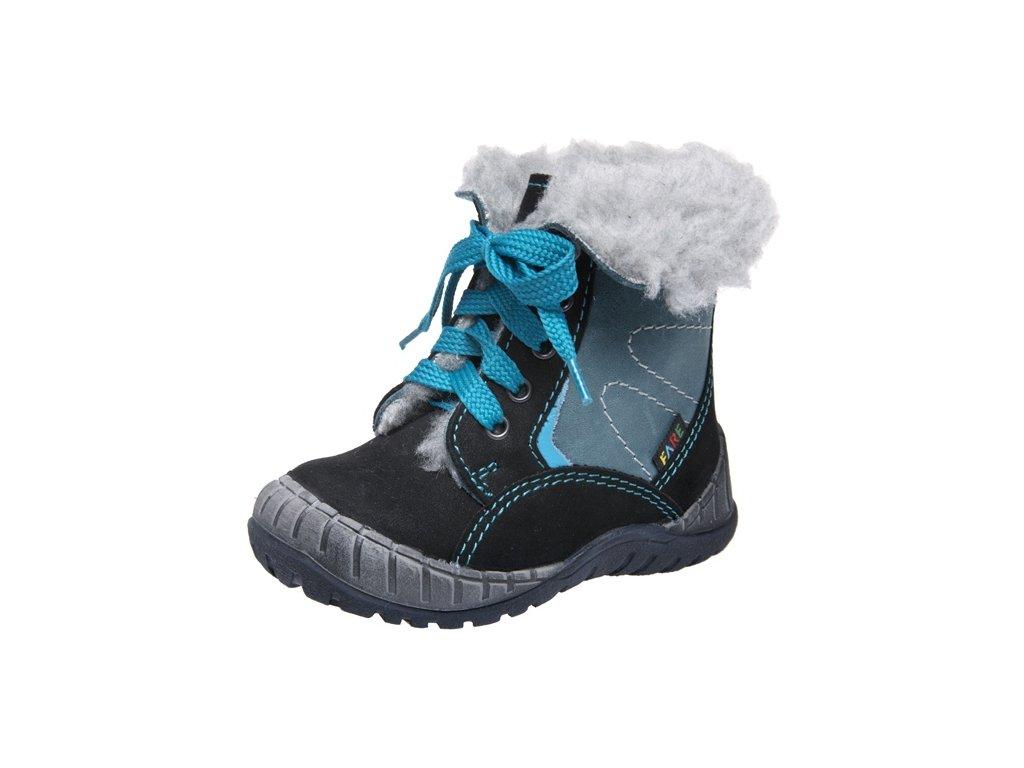 Dětské zimní kotníkové boty Fare 2145211 černá - VLAPA.cz cc40ce86ac