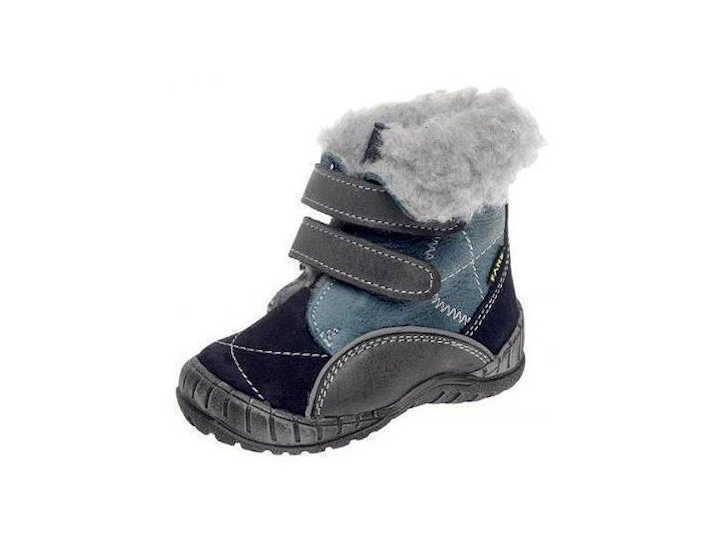 Dětské zimní kotníkové boty Fare 2146201 modrá - VLAPA.cz 3cd658dc68