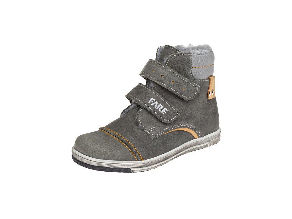 Dětské zimní kotníkové boty D.D.step 040-426 šedé - VLAPA.cz 0bb7d01528