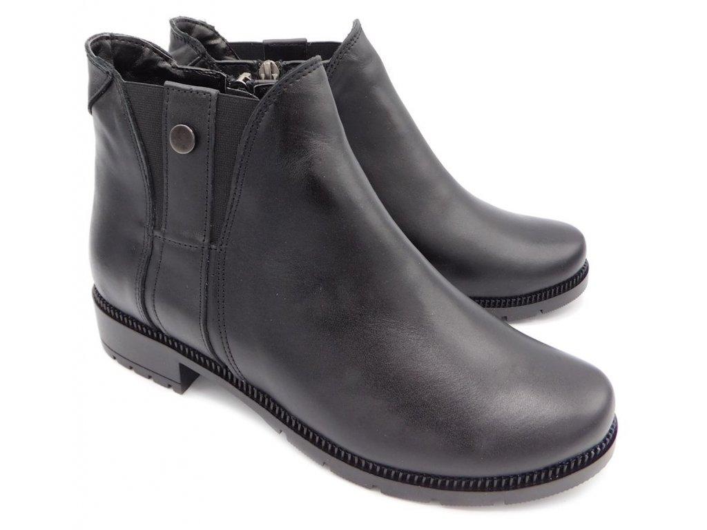... Dámské zimní kotníkové boty Hujo EW 472 černé. DSCI1365 46dfb2b099f