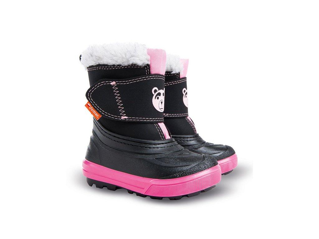 Dětské zimní sněhule Demar Bear růžové - VLAPA.cz f4a6b57f5a