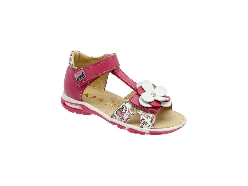 c8251a80196e Dětské letní sandálky KTR 119 138 BI růžové - VLAPA.cz