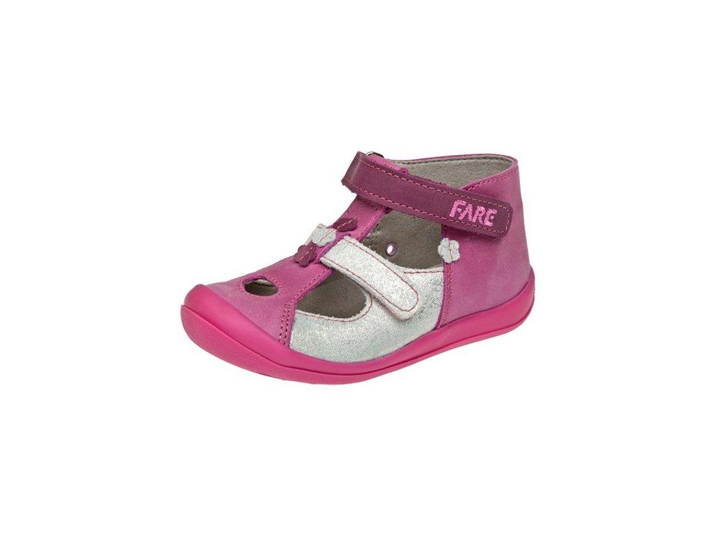 Dětské letní sandálky Fare 867151 růžové