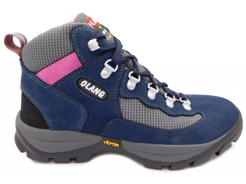 95377ae584f ... Dámská kotníková treková obuv Olang Gottardo-Tex modrá. DSCI1855