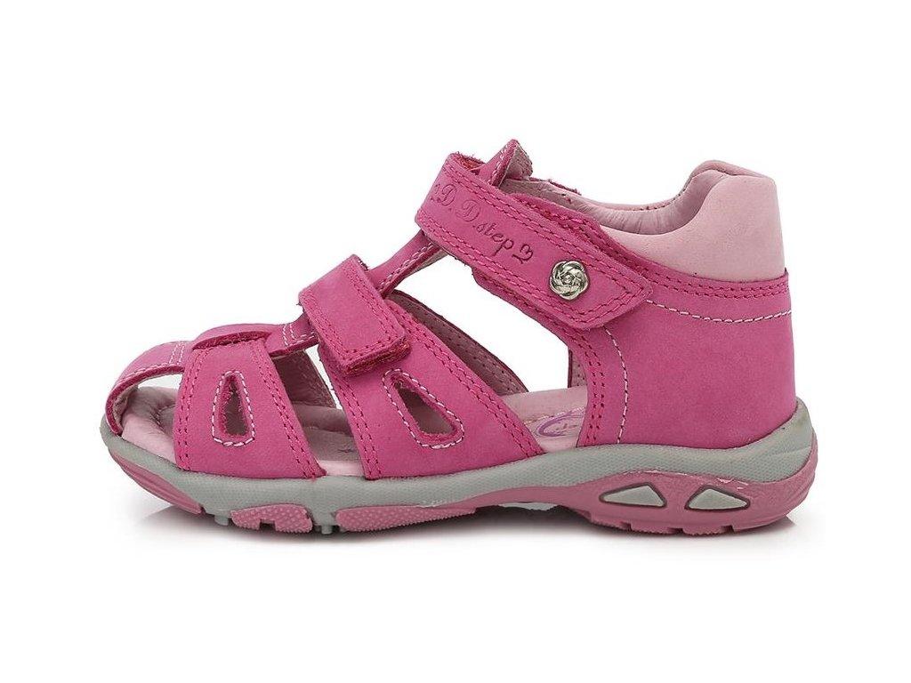 b9a966814c6e Dětské letní sandálky D.D.step AC290-7014C růžové - VLAPA.cz