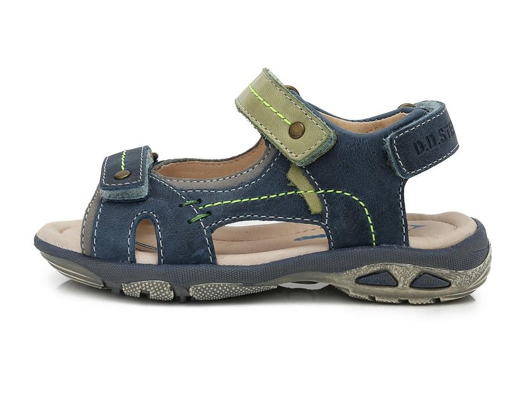 Dětské letní sandálky D.D.step AC290-7012 modré - VLAPA.cz d321a4eb3c