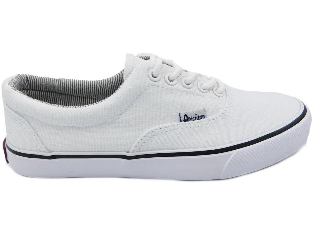 Dětská bílá celoroční obuv - VLAPA.cz 622e2aaaca