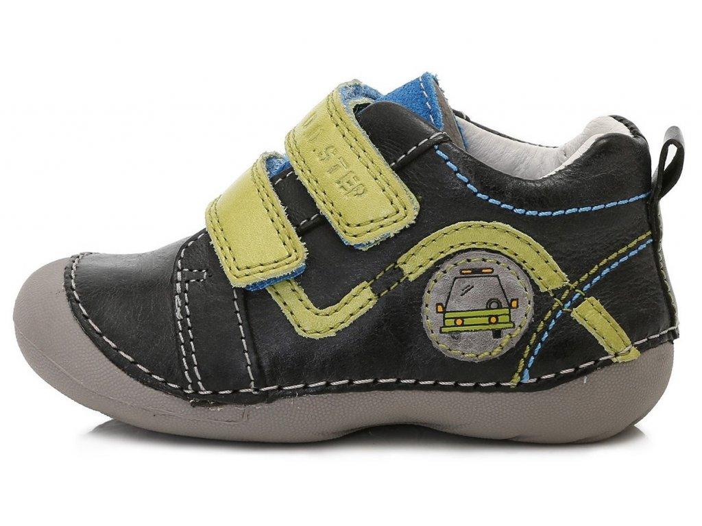 adb4e507142 Dětské celoroční boty D.D.step 015-151A černé - VLAPA.cz